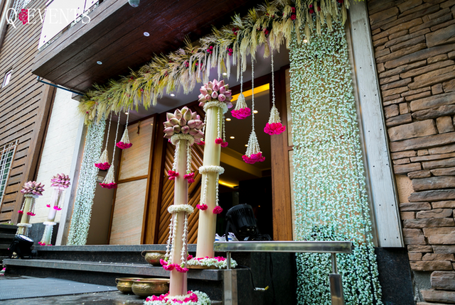 Ganesh festival decor at Meenakshi Joshi's house