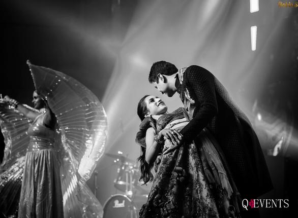 Ravina & Pranay at their Sangeet