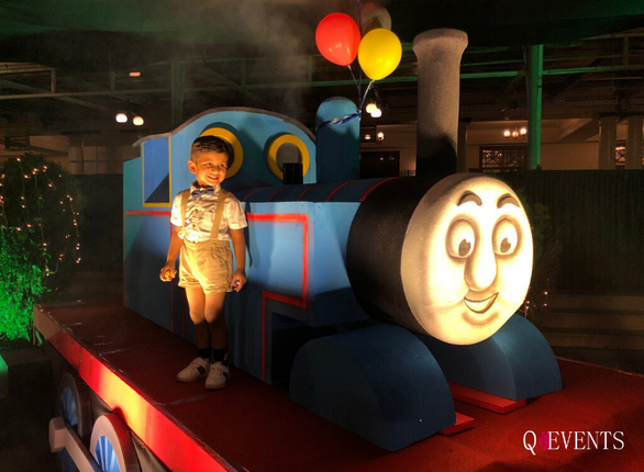 Ovi's Thomas Engine themed birthday