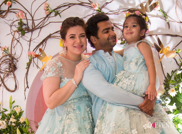 Urvashi & Sachin's baby shower