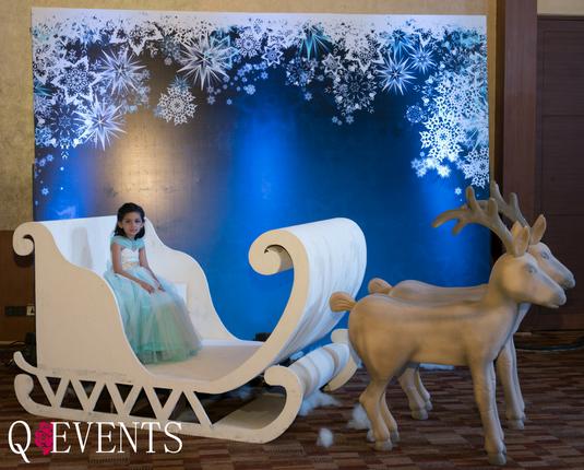 Winter Wonderland Themed Birthday
