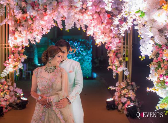 Pallavi & Dishant's Wedding Walkway