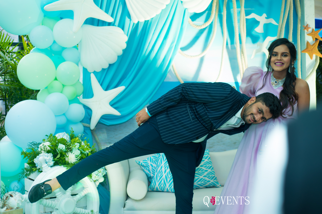 Reesha & Ankit at their Baby Shower