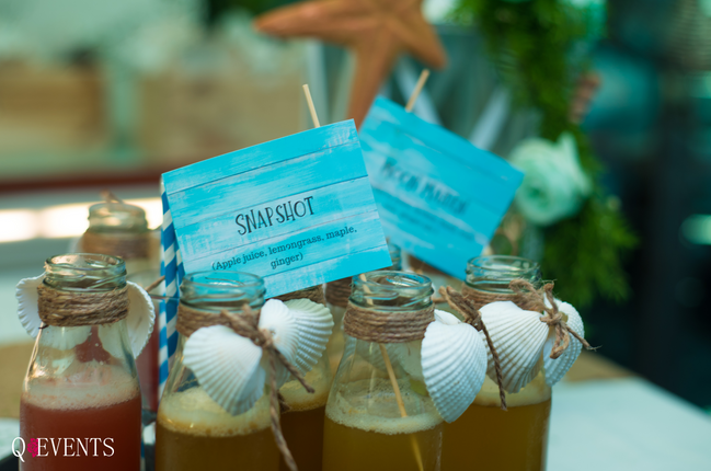 Details at the Sea themed Baby Shower