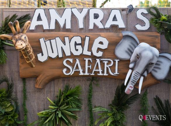 Amyra's Jungle Safari party