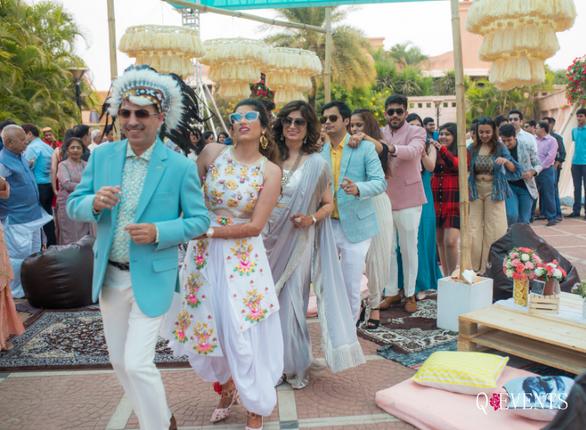 Pallavi & Dishant's Bohemian Carnival