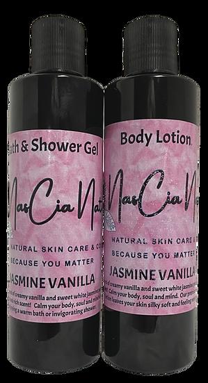 Jasmine Vanilla Bath and Body Set
