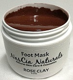 Rose Clay Foot Mask