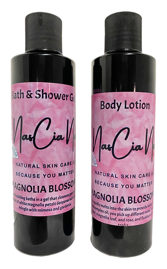 Magnolia Blossom Bath and Body Set