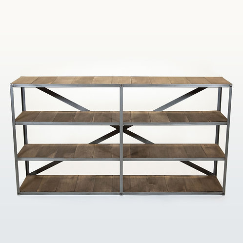 Horizontal Vintage Bookcase