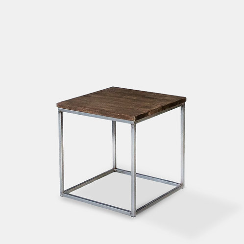 Cube Vintage End Table