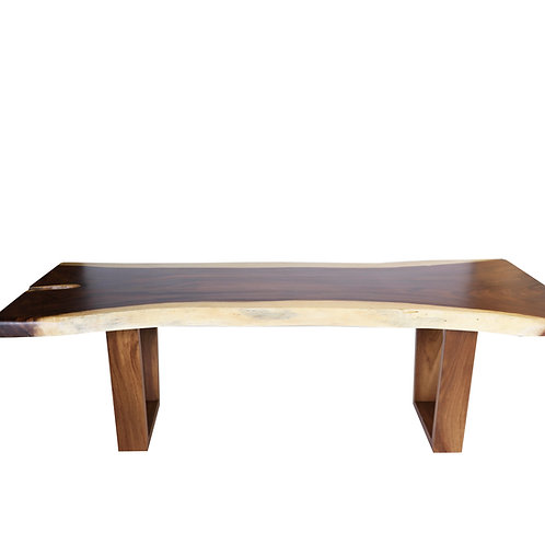 Live Edge Dining Table #043