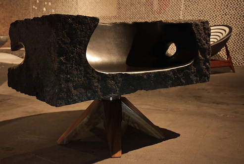 Lava Rock Chair