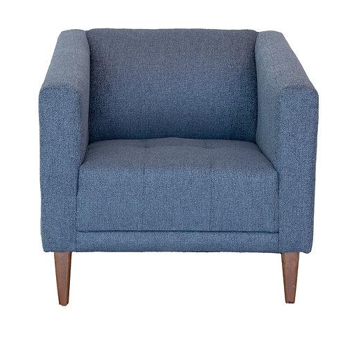 Sherman Accent Chair (Graphite Oxford)