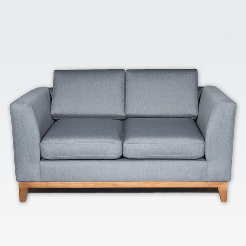 Roberta Love Seat (Slate Gray)
