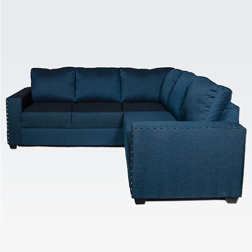 Montecarlo Sofa Sectional (Misty Blue)