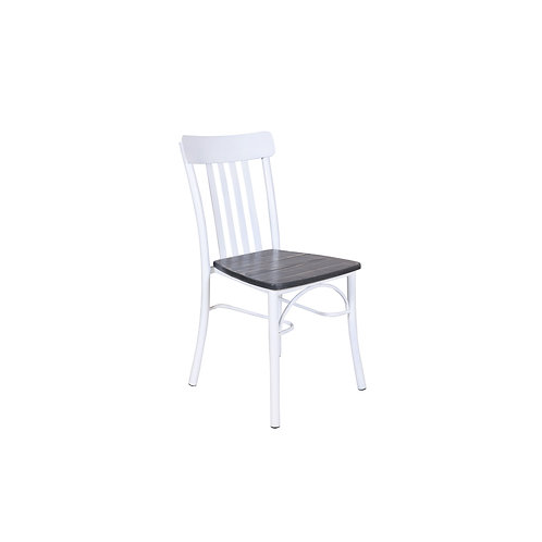 Vintage Rusol Chair With White Metal