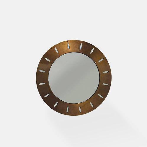 Vintage Round Mirror II