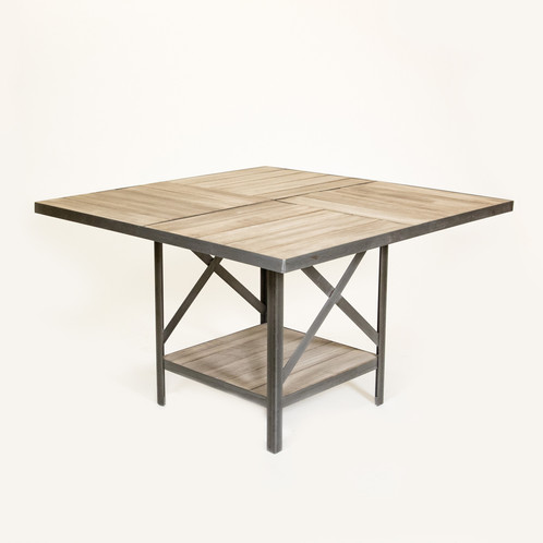 Fourz Dining Table - Welded table base