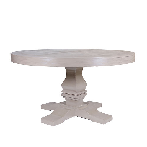 Cavali Round Dining Table (Taupe)