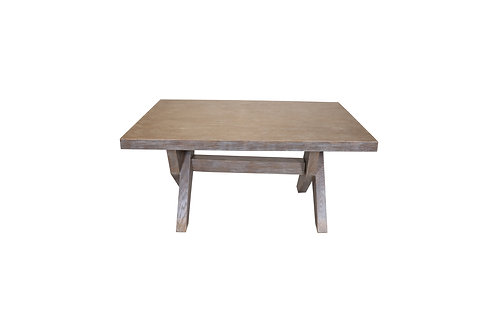 Torino Table 2.0 (Rustic Gray)