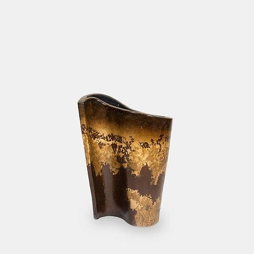 "Pottery ""S"" Vase Decor"