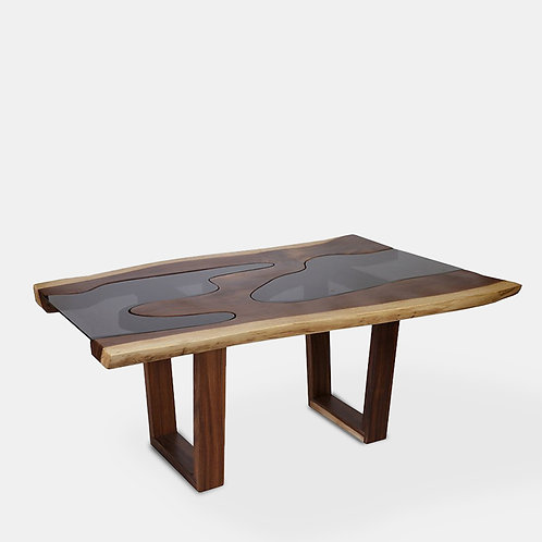 Tropical Wood Dining Table 1