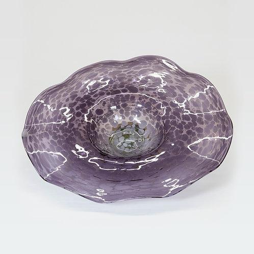 3 Piece Glass Wall Decor Set (Lavender)