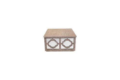 Norya Center Table (Rustic Gray)