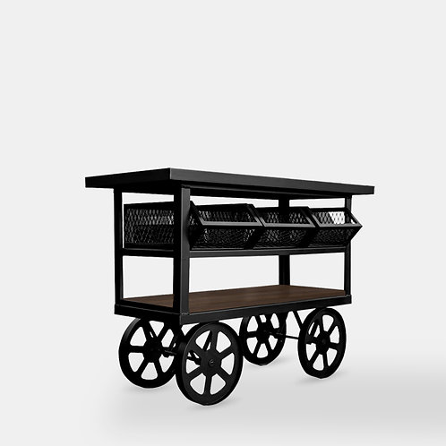Vintage Vegetable Cart