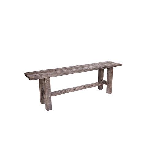 Rustic Grey Bench