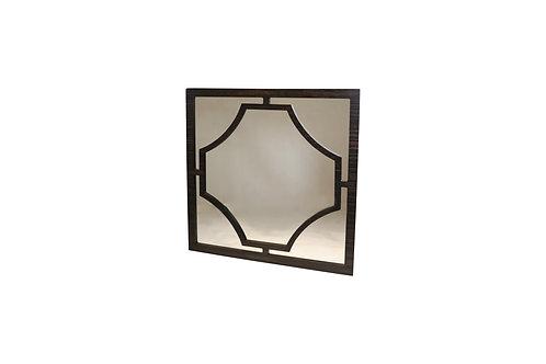 Norya Framed Mirror (Rustic Black)