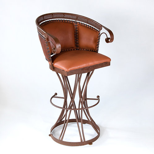 Zocalo Leather Barstool