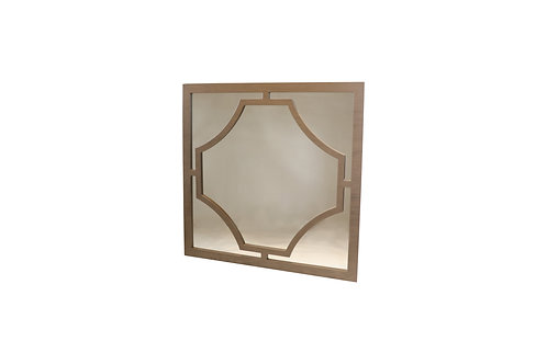 Norya Framed Mirror (Taupe)