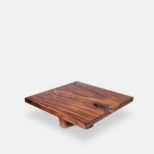 Live Edge Square Coffee Table
