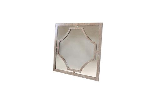 Norya Framed Mirror (Rustic Gray)