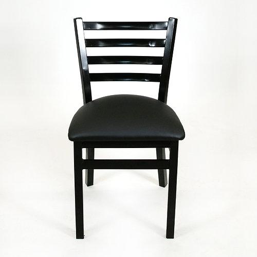 Ladder Back Chair (Black)