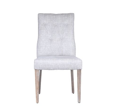 Rusia Chair (Tufted/Steel Gray)