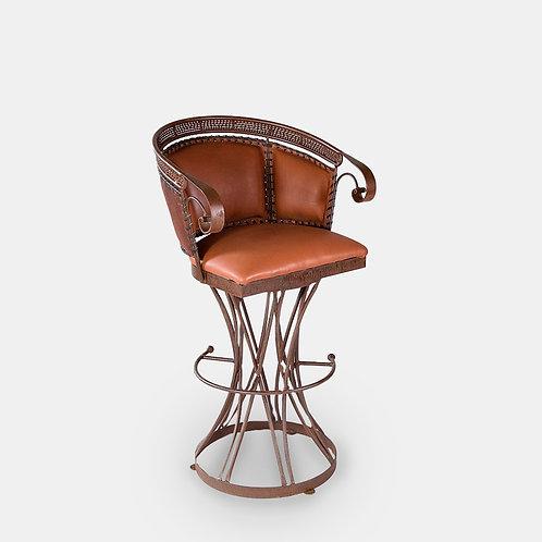 Zocalo Leather Barstool