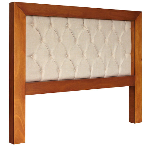 Mandir Queen Size Headboard (Cinnamon)