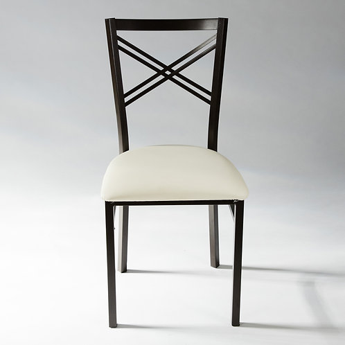 Double X Metal Chair