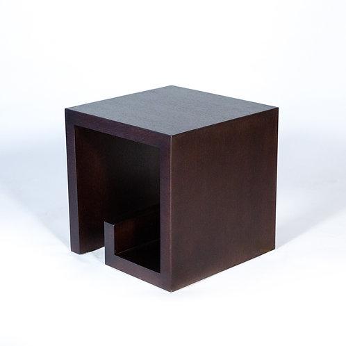 Kroll End Table (DarkBrown)