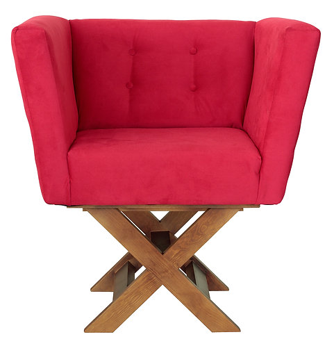 Alba Accent Chair-Simplicity Red