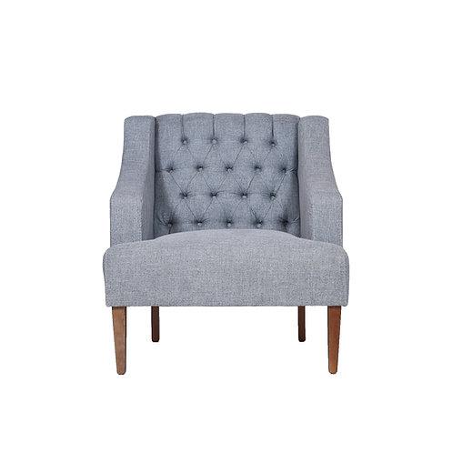 Nebraska Accent Chair (Gray Earth)