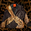 Thumbnail: Angular Cheetah Leather Blazer Jacket