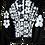 Thumbnail: Warhol-inspired White & Black Motorcycle Jacket