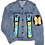 Thumbnail: Damien Hirst-Inspired Butterfly Alexander Wang Fitted Denim Jacket