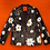 Thumbnail: All Over Daisies Leather Blazer Jacket