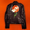 Thumbnail: Sunset Daisy Leather Motorcycle Jacket
