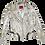 Thumbnail: Pollack-Inspired Metallic Splatter + Color Blocked Luxury Leather Jacket
